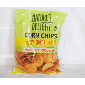 Corn Chips Tasty Cheese 400g