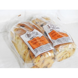 Dutch Fruit Loaf Apricot and Raisin 620g organic flour
