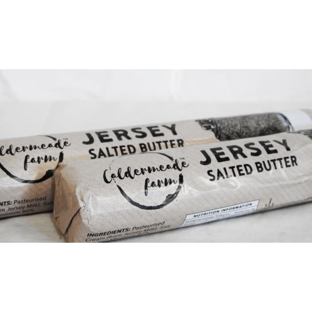 Caldermeade Jersey Butter Roll 190g Salted