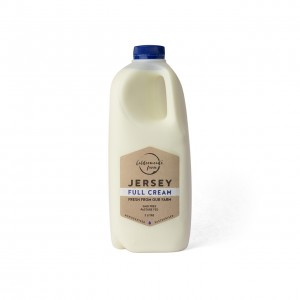 Caldermeade Farm Jersey Full Cream Milk 2L