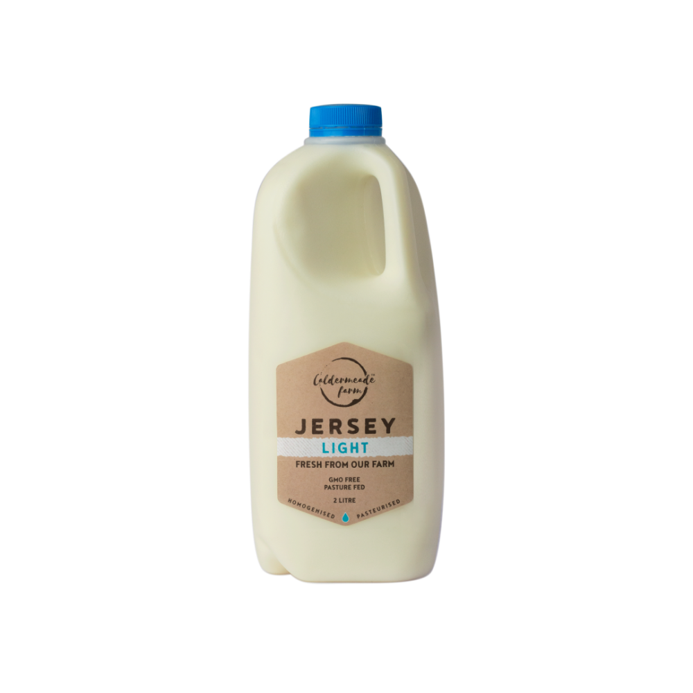 Caldermeade Farm Jersey Light Milk  2L