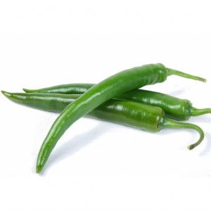 Chillies - Green Long (Hot)