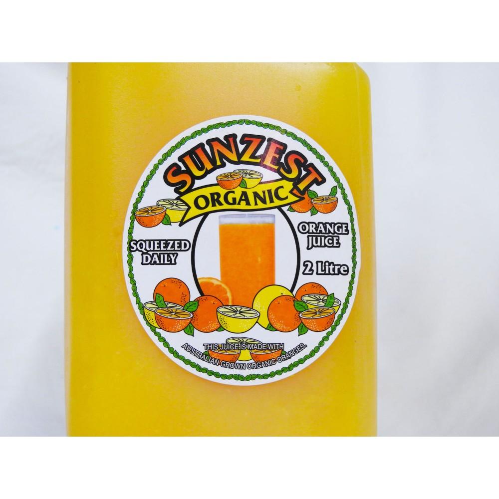 Organic Orange Juice (2 Litre)